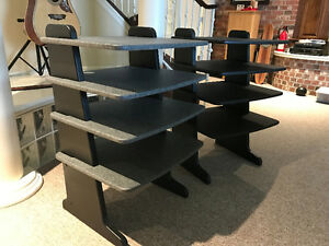 REDUCED !GEOMETRICS STEREO STANDS ...  ONE FOR SALE NOW !