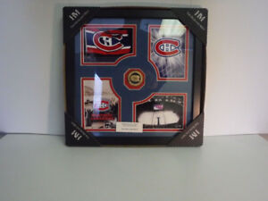 HighLand Mint Habs Frame with Gold Coin of Habs Logo