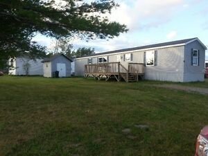 11 Year Old Mini Home in Mount Uniacke on a FANTASTIC lot