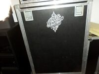 Road case for 2 heads and rack gear