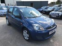 2008 Ford Fiesta 1.4 Zetec, £30 a year Road Tax, Air Conditioning, 12 Month Mot, 3 Month Warranty