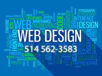 Conception site web, site internet Profesionnel, SEO/SEM