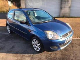 2008 Ford Fiesta 1.4TDCi Style 3 Door Metallic Blue £30 per year tax