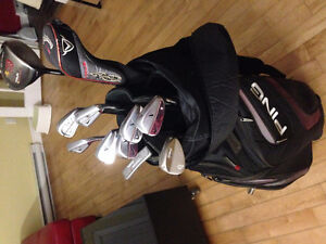 Sac de Golf club/baton - Taylormade/Nike/Callaway set/ensemble