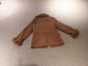 Womens brown cord fall/spring coat Kitchener / Waterloo Kitchener Area image 2