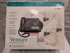 ~ Nortel 4 phone office network system w/answering service