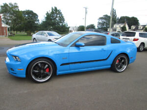 2013 FORD MUSTANG GT COUPE GLASS ROOF TRADE WELCOME