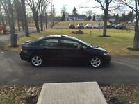 2010 Honda Civic Sport LX Sedan 5 speed black moon roof