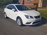 SEAT Ibiza 1.4 16V TOCA SC 85PS / SAT NAV / JUST 3% FLAT RATE FINANCE ON THIS CA