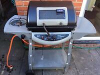 2 Burner Grill BBQ with hob