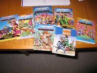 Masters of the Universe figures comic books