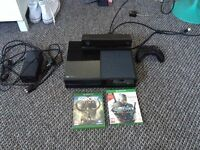 Xbox one with all accessories and box