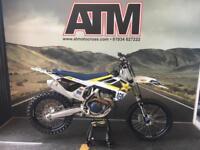 HUSQVARNA FC350 2017 MOTOCROSS BIKE, TIDY BIKE, NEW DECALS, (ATMOTOCROSS)