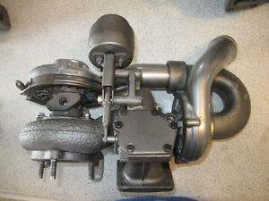 International CF500 VT275 engine (rebuilt turbo)