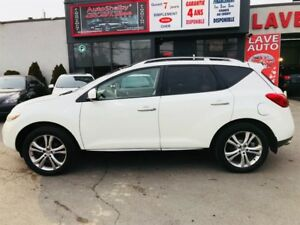 Nissan Murano LE-4WD-Cuir-Toit-Camera-Jamais Accidenter 2009