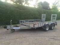 Ifor Williams 3.5 tonne plant trailer