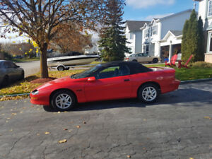1995 Camaro  Convertable  can  be stored for the winter