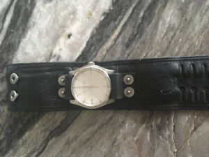 Calvin Klein wrist watch with leather straps for sale