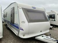 2007 HOBBY 690 UK collection 5 berth Fixed island bed