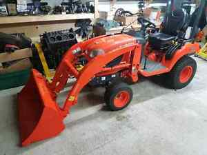 2014 Kubota BX2370 with Implements