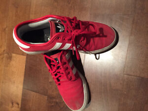 Men's Adidas Red Low cut shoes - size 7.5