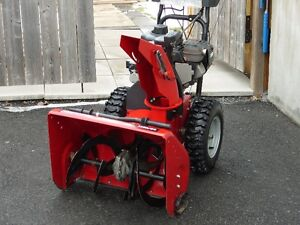 Craftsman dual stage snow thrower