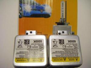 New HID D1S 6000K Pair  Replacement Headlight Bulbs - Premium Quality (1 Year WARRANTY)