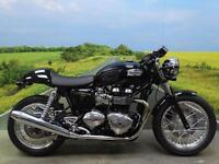 Triumph Thruxton 900 65 plate *Loads of extras and only 1418 miles!*
