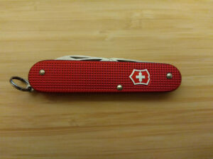 Victorinox Red Alox Cadet Swiss Army Knife