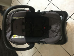 Car seat with attachment
