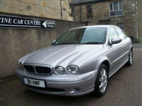 04 04 JAGUAR X-TYPE SPORT 2.0 V6 4DR ALLOYS LEATHER PRIVATE REG LOW MILEAGE