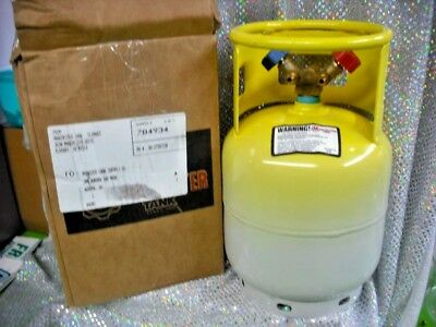 Refrigerant Recovery Tank Hard To Find Rare 15 Lb. New Retest Date 032023