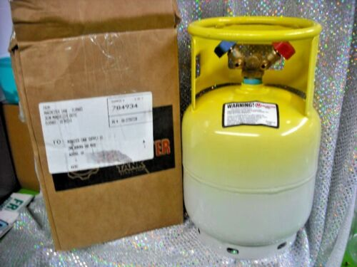 Refrigerant Recovery Tank, Hard to Find, RARE, 15 lb. NEW, RETEST DATE: 03/2023