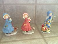 Holly hobby collector ornaments