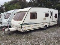 Abbey GTS Vogue 418 4 Berth Fixed Bed Caravan