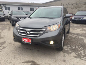 2013 Honda CR-V Touring SUV AWD LOW KLM NAVIG SAFETY & E-TEST