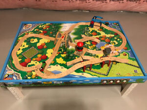 Thomas the train table and track/acessories