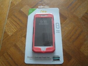 ISKIN DUAL-LAYER TOUGH CASE FOR iphone 5/5s or 6/6s - BRAND NEW