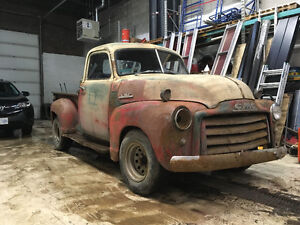 RUNNING 1950 GMC Truck *Rare short bed!* (updated pix)