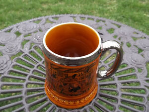Lord Nelson Pottery vintage Steined Mug made in England coach 2 West Island Greater Montréal image 3