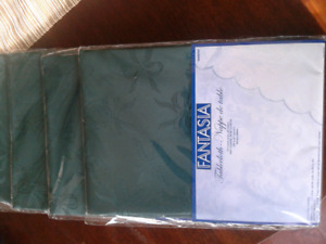 """Brand New Christmas Tablecloths Approximately 31"""" Square"""