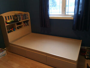 simple bed
