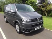 2014 14 VOLKSWAGEN TRANSPORTER HIGHLINE 2.0TDI 40BHP SWB T30 HIGHLINE 1 OWNER
