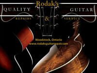 Rodak's Guitar Repair and Service