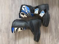 Kids size 9 Moto Cross boots