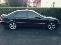 2001 Mercedes-Benz AMG C-Class 320 Berline NO TAXE