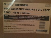Bostik Idenden self adhesive bright foil tape