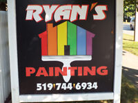 RYANS PAINTING;DARE TO COMPARE;CALL MIKE 519-503-7017