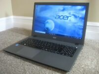 15.6 Acer Touch Screen Laptop, Intel CPU, 8GB RAM, 1TB HDD