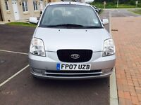 Automatic 2007 KIA Picanto 1L + 30k Mileage+years MOT..2017 +... 2 Lady Owner from new £1799